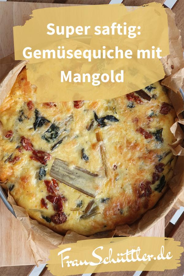 Super saftig: Gemüsequiche mit Mangold
