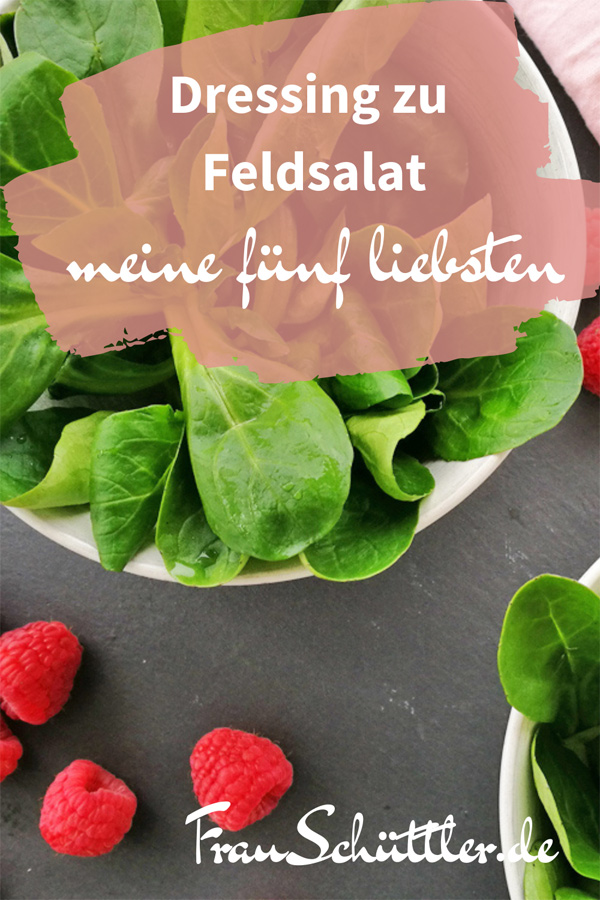 Dressing zu Feldsalat
